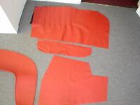 MERCEDES DOOR SKINS 190SL 56-63 W121 ROADSTER