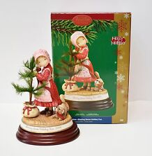 Holly Hobbie Sharing Some Holiday Fun Heirloom Ornament 2006