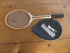 Rare Vintage Slazenger Vip Tournament Wooden Tennis Racket