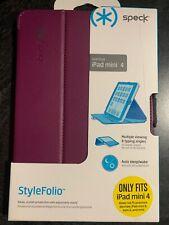 Speck StyleFolio Case for Apple iPad Mini 4 Orchid Purple