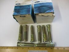 """8 PCS IN 2 FORD BOXES 1970/1989 TRUCK """"BOLT"""" (LEFT HAND HUB) NOS FREE SHIPPING"""