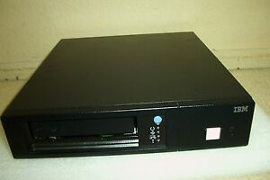 IBM 3580-H3L/H3E LTO3HH LVD EXTERNAL TAPE DRIVE 400/800GB