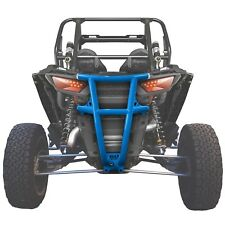 Tube Steel Rear Bumper USA Made Racing UTV Polaris RZR4 Turbo 4 Seat Voodoo Blue