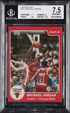 1984-85 Star Michael Jordan XRC RC #101 BGS 7.5 Rookie Card