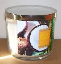 BATH & BODY WORKS COCONUT VANILLA 14.5OZ JAR CANDLE DELICIOUS TROPICAL SCENT!