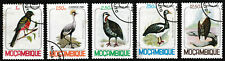 1980 Mozambique Birds Series Stamps Set of 5 - Used / Very Good