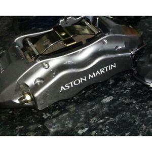8 x Compatible with Aston Martin Brake Caliper Decals Sticker (WHITE)