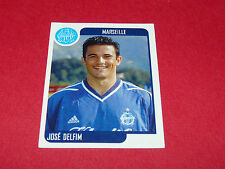 189 JOSE DELFIM OLYMPIQUE MARSEILLE OM PANINI FOOT 2002 FOOTBALL 2001 2002