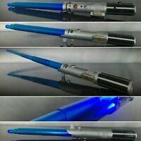 Anakin Skywalker Rey Lightsaber Blue 09 Hasbro Star Wars Disney Lights Sound FX