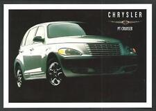 Chrysler PT Cruiser - cartolina pubblicitaria