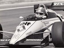 DEREK WARWICK RENAULT RE50 BELGIAN GP ZOLDER 1984 F1 ORIGINAL PERIOD PHOTOGRAPH