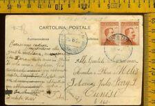 Regno Marina Navigazione nave piroscafo postale Italiano  F 078 Città di Tripoli