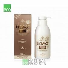 L'biotica Biovax Argan,Macadamia and Coconut Oil - Shampoo 400ml