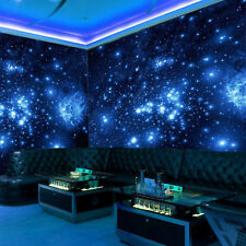 Universe Wallpaper Night Sky Star Glow Moon Stick Decor Effect Wall Sticker