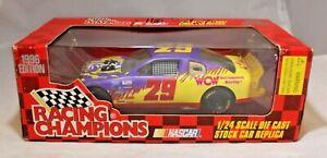 Racing Champions Diecast Replica 1:24 1996 Edition #29 WCW Elliott Sadler SIGNED