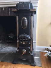 Rare German from Antique Store Munich 1890s Parlor Coal Stove Cast Iron Swoboda