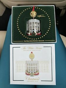Official 2018 White House Christmas Ornament New
