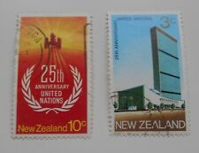 New Zealand 1970 25th Anniversary of United Nations Fine Used