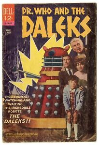 Dr. Who & the Daleks #nn G/VG 3.0  Photo Cover  Dell  1966  No Reserve