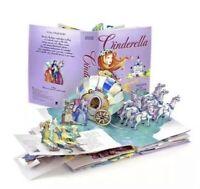 Cinderella Pop Up Book 1st Ed., Fairytale Book Matthew Reinhart Rare NEW!