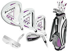 LEFT LADIES ORLIMAR ST GOLF CLUB SET wGRAPHITE WOODS & HYBRIDS+6-PW+BAG+PUTTER