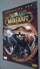 World of Warcraft: Mists of Pandaria  Double Sided Poster     NEW    WOW MOP