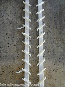 LOUVRE WINDOW FRAMES 915mm - WHITE