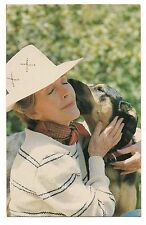NANCY REAGAN POSTCARD Smooch from a Pooch Dog Kiss Freebo California Patti Davis