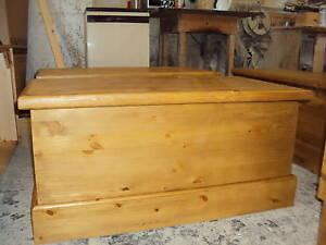 Waxed Bespoke Blanket Box / Toy Box