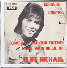 RICHARD Cliff Vinyle 45T 7 SP POWER TO ALL OUR FRIENDS