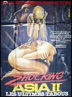 SHOCKING ASIA 2 LES ULTIMES TABOUS Affiche Cinéma Pliée Movie Poster ROLF OLSEN