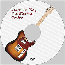 Learn How To Play The Electric Guitar For Beginners DVD Video Tutorial