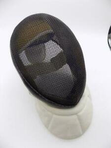 Linea Fencing Mask 350NW Blue/Green/White GUC Mesh Gear Sports