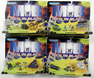 MIB GALOOB Complete Set 1-2-3-4  #75400 MICRO MACHINES COLLECTION  1997 NEW!!