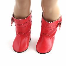 CUTE ~ gift fashion new boot shoes for 18inch American girl doll party b587