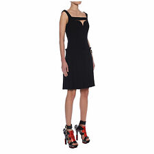Avant-Garde ALEXANDER MCQUEEN Harness Box Pleat Dress 42