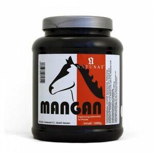 1 kg Natusat Mangan Chelat Pulver hochdosiert 15000mg Pferd  Pony