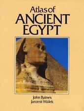 Cultural Atlas: Cultural Atlas of Ancient Egypt by Jaromir Malek and John Baines