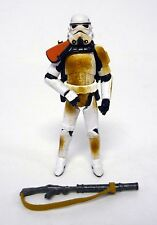 "STAR WARS SANDTROOPER Revenge of Sith Collection 4"" Figure ROTS COMPLETE 2005"