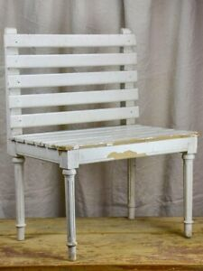19th Century suitcase bench from a French hotel
