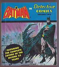 Batman in Detective Comics Vol.2 Complete Covers Of The Second 25 Years 1994
