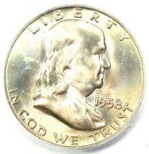 1958-D Franklin Half Dollar 50C - Certified ICG MS67 FBL FL - $1,190 Value!