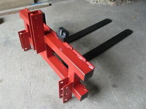 Gabelträger Palettengabel 1200x407mm  Dreipunktaufhängung mit Gabeln 1,20 m