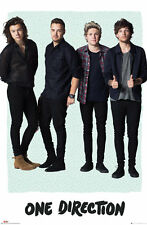 ONE DIRECTION / 1D - MUSIC POSTER (LIAM, NIALL, HARRY & LOUIS / MINT)