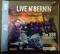 The BBB Featuring Bernie Dr...-Live N` Bernin` (Blu-ray) DVD NEW Auro 3D Auro3d