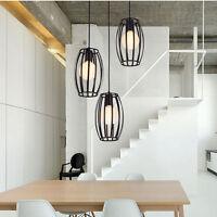 leuchte pendelleuchte deckenlampe kronleuchter h ngelampe schwarz metall neu. Black Bedroom Furniture Sets. Home Design Ideas