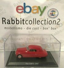 "DIE CAST "" FIAT 1100 S - 1947 "" + TECA RIGIDA BOX 2 SCALA 1/43"