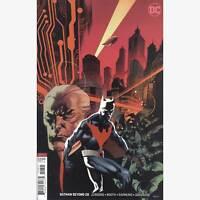 BATMAN BEYOND #28 DC Comics, 2019 COVER B 1st Print VARIANT