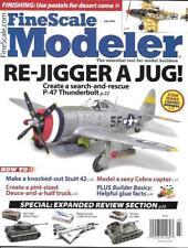 Fine Scale Modeler July 2016 P-47 Thunderbolt Desert Camo Vietnam Bell Cobra