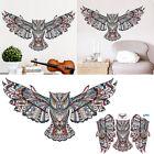 Animal Owl Wings Wall Sticker Bird Vinyl Decal Home Room Art Decor DIY